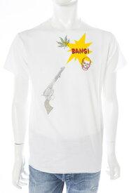 ルシアンペラフィネ lucien pellat-finet ペラフィネ Tシャツ 半袖 丸首 メンズ EVH1799 ホワイト 送料無料 楽ギフ_包装 LPF値下げ
