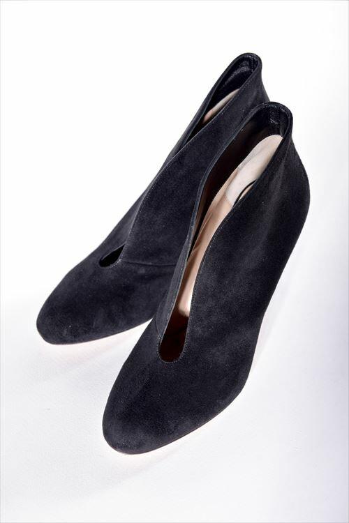 ジャンヴィトロッシ GIANVITO ROSSI パンプス ブーティ 靴 レディース G29610 CAMOSCIO ブラック 送料無料 SALE16AW