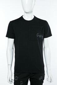 ダニエレアレッサンドリーニ DANIELEALESSANDRINI Tシャツ 半袖 丸首 MAGLIA BIG TASCA MC ST メンズ M5986E6433606 ブラック 送料無料 楽ギフ_包装