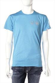 ルシアンペラフィネ lucien pellat-finet ペラフィネ Tシャツ 半袖 丸首 メンズ EVH1830 ブルー 送料無料 楽ギフ_包装 LPF値下げ