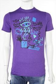 ディースクエアード DSQUARED2 ディースクエアード Tシャツ 半袖 丸首 メンズ S71GD0209S21600 パープル 送料無料 楽ギフ_包装 DSQ値下げ 2004値下げ