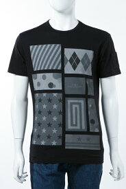 ダニエレアレッサンドリーニ DANIELEALESSANDRINI Tシャツ 半袖 丸首 MAGLIA PITIGLIANO ST メンズ M6361E6433706 ブラック 送料無料 楽ギフ_包装 2017AW_SALE