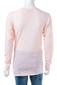 ディースクエアード DSQUARED2 Tシャツアンダーウェア ロングTシャツ ロンT 長袖 Vネック メンズ D9M600660 ライトピンク 送料無料 楽ギフ_包装 【ラッキーシール対応】