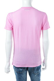 ディースクエアード DSQUARED2 Tシャツアンダーウェア Tシャツ 半袖 丸首 メンズ D9M200930 ピンク 送料無料 楽ギフ_包装 【ラッキーシール対応】