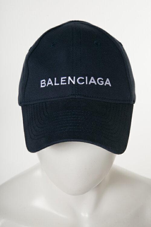 バレンシアガ BALENCIAGA キャップ ベースボールキャップ 帽子 HAT BALENC NEW BAS 499071 410B7 ネイビー 送料無料 楽ギフ_包装 2018年春夏新作