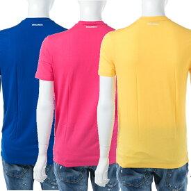 ディースクエアード DSQUARED2 Tシャツアンダーウェア Tシャツ 半袖 丸首 メンズ D9M200900 送料無料 楽ギフ_包装 【ラッキーシール対応】