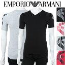 アルマーニ エンポリオアルマーニ Emporio Armani Tシャツアンダーウェア Tシャツ 半袖 Vネック メンズ 111760 8P725 送料無料 楽ギフ_包装