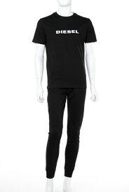 ディーゼル DIESEL スーツ セットアップ Tシャツ パンツ メンズ 00SGXE 0HASH ブラック 送料無料 楽ギフ_包装 【ラッキーシール対応】