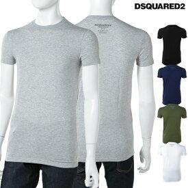 ディースクエアード DSQUARED2 Tシャツアンダーウェア Tシャツ 半袖 丸首 メンズ DCM380020 楽ギフ_包装 DSQ値下げ 2004値下げ