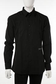 600b698b5a736 ジバンシー ジバンシィ GIVENCHY シャツ カッターシャツ ワイシャツ 長袖 メンズ BM608R100J ブラック×ホワイト 送料無料 楽