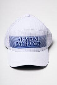 アルマーニ エクスチェンジ ARMANI EXCHANGE キャップ ベースボールキャップ 帽子 954035 9P143 ホワイト 送料無料 楽ギフ_包装 【ラッキーシール対応】