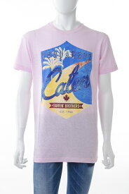 ディースクエアード DSQUARED2 Tシャツ 半袖 丸首 クルーネック メンズ S71GD0639S22507 ピンク 送料無料 楽ギフ_包装 【ラッキーシール対応】