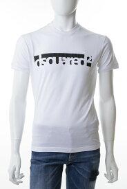 ディースクエアード DSQUARED2 Tシャツ 半袖 丸首 クルーネック メンズ S71GD0648S22427 ホワイト 送料無料 楽ギフ_包装 【ラッキーシール対応】