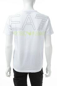 アルマーニ エンポリオアルマーニ Emporio Armani EA7 Tシャツ 半袖 丸首 クルーネック メンズ 3GPT05 PJ02Z ホワイト 送料無料 楽ギフ_包装 【ラッキーシール対応】