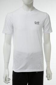 アルマーニ エンポリオアルマーニ Emporio Armani EA7 Tシャツ 半袖 丸首 クルーネック メンズ 3GPT52 PJM5Z ホワイト 送料無料 楽ギフ_包装 【ラッキーシール対応】