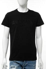 バルマン BALMAIN Tシャツ 半袖 丸首 クルーネック メンズ SH11601 I117 ブラック 送料無料 楽ギフ_包装 2019年秋冬新作 【ラッキーシール対応】