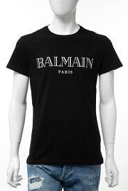 バルマン BALMAIN Tシャツ 半袖 丸首 クルーネック メンズ SH11601 I312 ブラック 送料無料 楽ギフ_包装 2019年秋冬新作 【ラッキーシール対応】