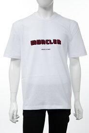 モンクレール MONCLER Tシャツ 半袖 丸首 クルーネック メンズ 8046950 8390T ホワイト 送料無料 楽ギフ_包装 2019年秋冬新作 【ラッキーシール対応】