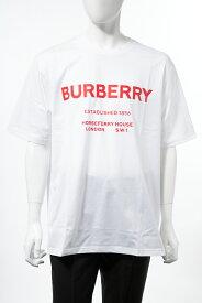バーバリー BURBERRY Tシャツ 半袖 丸首 クルーネック メンズ 8017225 ホワイト 送料無料 楽ギフ_包装 2019年秋冬新作 【ラッキーシール対応】