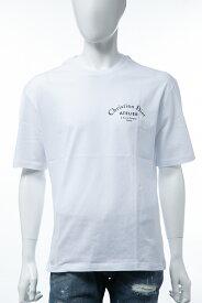 クリスチャンディオール Christian Dior Tシャツ 半袖 丸首 クルーネック メンズ 863J621I0533 ホワイト 送料無料 楽ギフ_包装 2019年秋冬新作 【ラッキーシール対応】