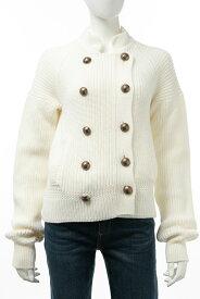 クロエ Chloe セーター ニットジャケット レディース CH16SMM106S700 ミルクホワイト 送料無料 楽ギフ_包装 【ラッキーシール対応】