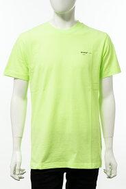 オフホワイト OFF-WHITE Tシャツ 半袖 丸首 クルーネック メンズ AA027R20 185032 イエロー 送料無料 楽ギフ_包装 【ラッキーシール対応】 2020年春夏新作