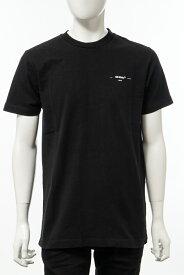 オフホワイト OFF-WHITE Tシャツ 半袖 丸首 クルーネック メンズ AA027R20 185032 ブラック 送料無料 楽ギフ_包装 【ラッキーシール対応】 2020年春夏新作