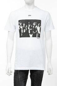 オフホワイト OFF-WHITE Tシャツ 半袖 丸首 クルーネック OMAA027R201850150110 メンズ AA027R20 185015 ホワイト 送料無料 楽ギフ_包装 2020年春夏新作 【ラッキーシール対応】