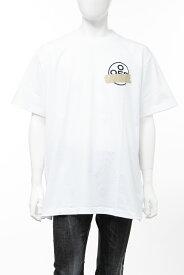 オフホワイト OFF-WHITE Tシャツ 丸首 クルーネック OMAA038R201850020148 メンズ AA038R20 185002 ホワイト 送料無料 楽ギフ_包装 2020年春夏新作 【ラッキーシール対応】