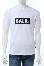 ボーラー BALR. Tシャツ 半袖 丸首 クルーネック WHITE CLUB ATHLETIC メンズ B10002 ホワイト 送料無料 楽ギフ_包装 2020年春夏新作