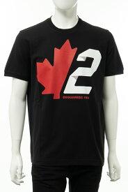 ディースクエアード DSQUARED2 Tシャツ 半袖 丸首 クルーネック メンズ S74GD0756S22427 ブラック 送料無料 楽ギフ_包装 2020年秋冬新作 2020AW_SALE