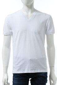 ハイドロゲン HYDROGEN Tシャツ 半袖 Vネック メンズ 270102 ホワイト 送料無料 楽ギフ_包装 2020年秋冬新作 2020AW_SALE