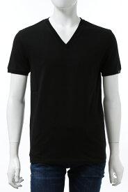 ハイドロゲン HYDROGEN Tシャツ 半袖 Vネック メンズ 270102 ブラック 送料無料 楽ギフ_包装 2020年秋冬新作 2020AW_SALE