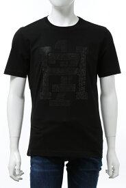 ハイドロゲン HYDROGEN Tシャツ 半袖 丸首 クルーネック メンズ 274106 ブラック 送料無料 楽ギフ_包装 2020年秋冬新作 2020AW_SALE
