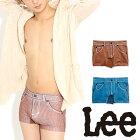 Lee(リー)コーデュロイシームレスボクサーパンツ/メンズ