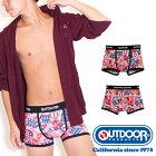 OUTDOORPRODUCTS(アウトドアプロダクツ)コカコーラステッカーボムボクサーパンツ/メンズ