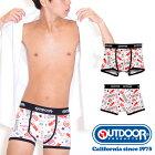 OUTDOORPRODUCTS(アウトドアプロダクツ)コカコーラアメリカンパターンボクサーパンツ/メンズ