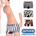 OUTDOORPRODUCTS(アウトドアプロダクツ)アニマルスキンシームレスボクサーパンツ/メンズ