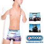 OUTDOORPRODUCTS(アウトドアプロダクツ)乗り物シームレスボクサーパンツ/メンズ