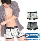 OUTDOORPRODUCTS(アウトドアプロダクツ)ミッキーミックスボクサーパンツ/メンズ