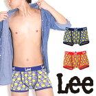 Lee(リー)スマイリーチェッカーボクサーパンツ/メンズ