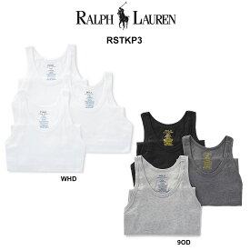 (SALE)POLO RALPH LAUREN(ポロ ラルフローレン)スリムフィット タンクトップ 3枚セット メンズ 下着 RSTKP3