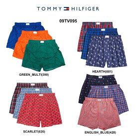 TOMMY HILFIGER(トミーヒルフィガー)トランクス 3枚セット お買い得 パック メンズ 下着 09TV095