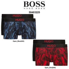 HUGO BOSS(ヒューゴボス)ローライズ ボクサーパンツ お買い得 2枚セット メンズ 下着 50403225