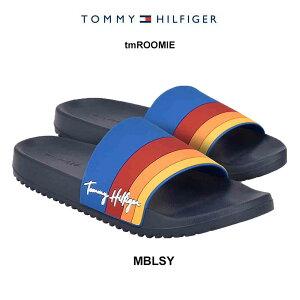 (SALE)TOMMY HILFIGER(トミーヒルフィガー)スポーツ サンダル スリッパ メンズ tmROOMIE