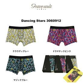 gravevault(グレイブボールト)ショート ボクサーパンツ メンズ 下着 Dancing Stars 3060912