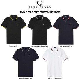 (SALE)FRED PERRY(フレッドペリー)ポロシャツ 半袖 メンズ TWIN TIPPED FRED PERRY SHIRT M3600