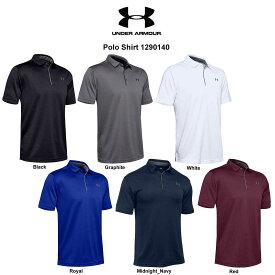 (SALE)UNDER ARMOUR(アンダーアーマー)ポロシャツ 半袖 ゴルフ メンズ Polo Shirt 1290140
