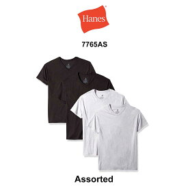 (SALE)Hanes(ヘインズ)Tシャツ Vネック 4枚セット お買い得パック メンズインナー 男性用 下着 7765AS