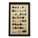 宝石鉱物 45種 ルーペ付き